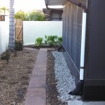French Drain - After