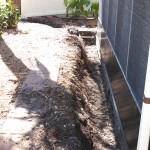 French Drain - During