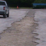 Parking Lot Drainage - After