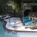 Pool Deck - Before